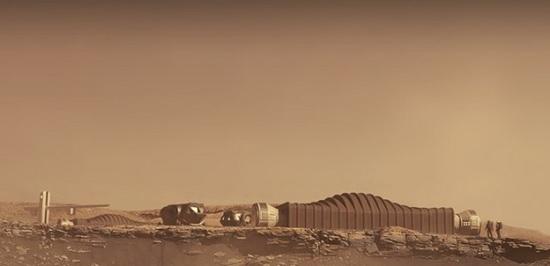 Nasa смоделируют полёт человека на Марс