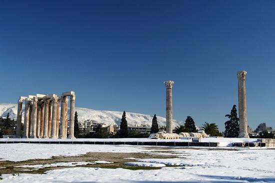 Уникальные достопримечательности Греции. Артефакты Афин