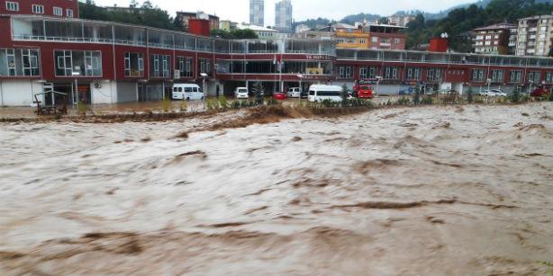 наводнение на северо-востоке турции