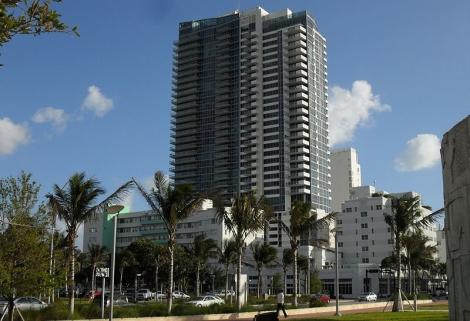 Setai Hotel в районе South Beach Майами