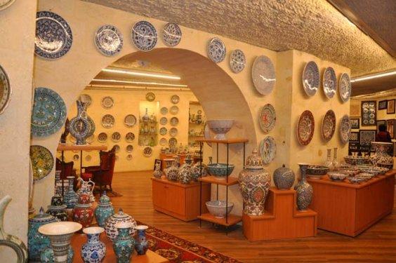 подземный музей керамики в аваносе