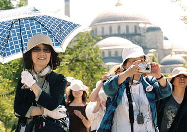 туристы из китая