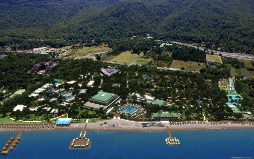 территория отеля nirvana lagoon villas suites & spa в кемере