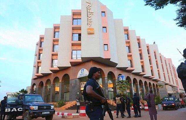 отель Radisson Blu в Бамако