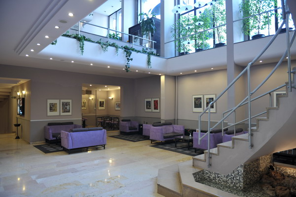 интерьер стамбульского отеля Taslik