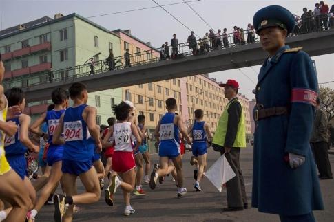 пхеньянский марафон 2014