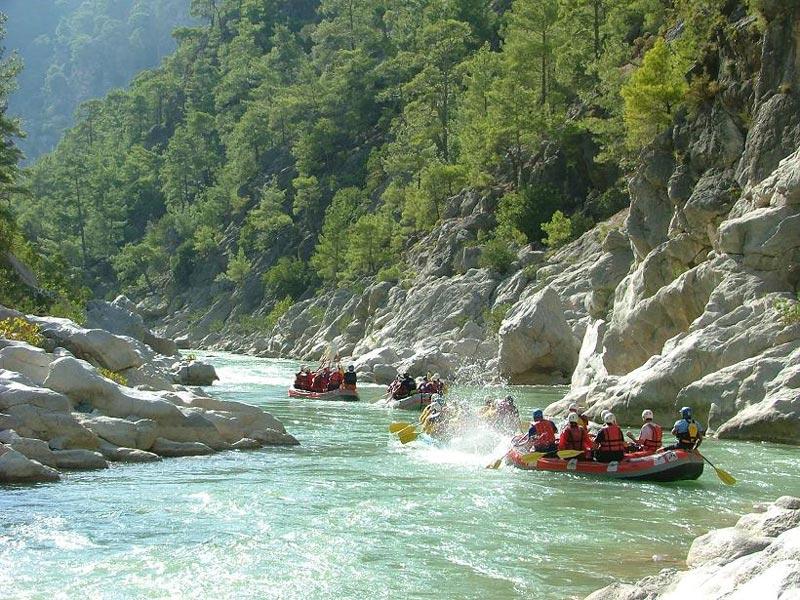 красоты реки даламан