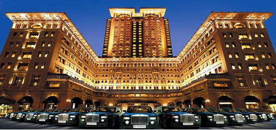 один из самых шикарных отелей Пекина