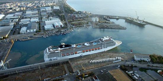 международный пассажирский порт Анталии