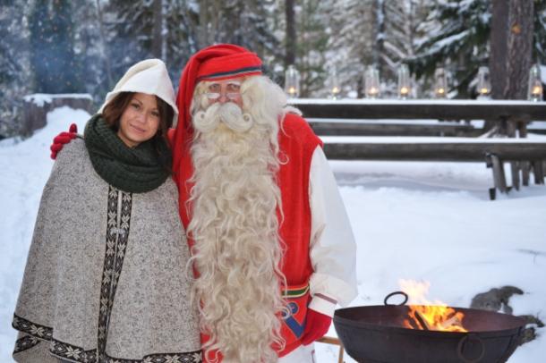 дед мороз ждёт вас в Йоулупукки