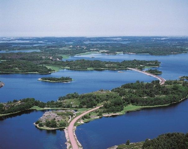 панорама северной природы Аландов
