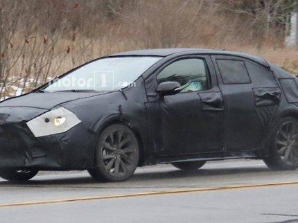 Обновлённую Toyota Corolla заметили в США