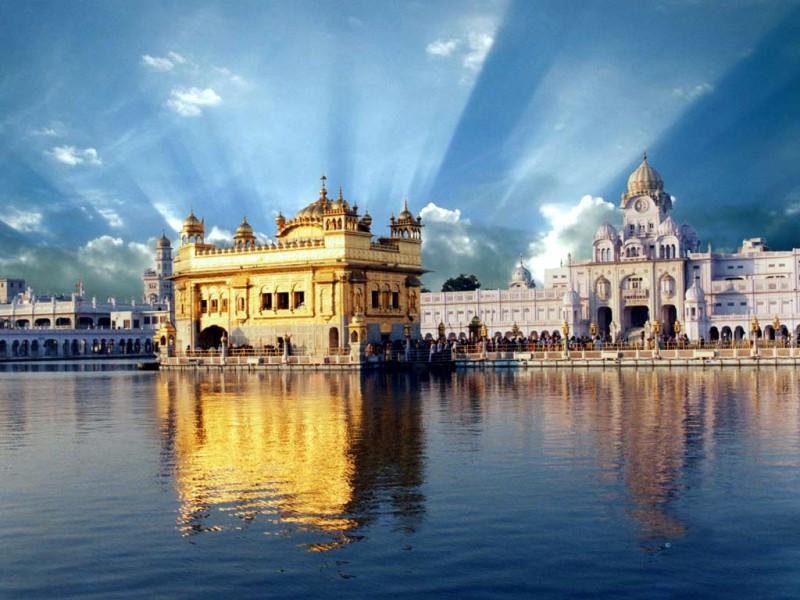 величественная индийская архитектура