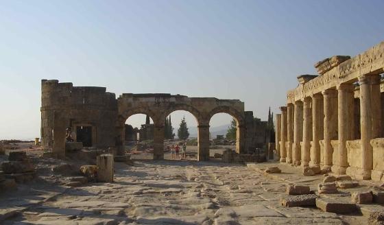 культурно-исторический памятник Хиераполис