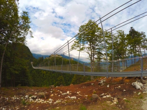 гигантский подвесной мост