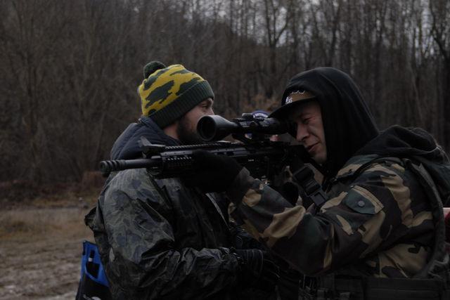 Увидеть премьеру сериала «Гвардия» пришли бойцы с передовой