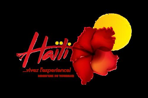 цветок гибискуса на логотипе министерства туризма Гаити
