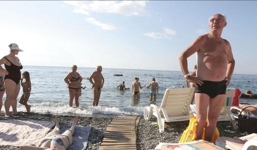 украинские туристы в турции