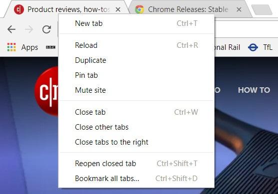 Меню Chrome в якому можна вимкнути звук для певного сайту