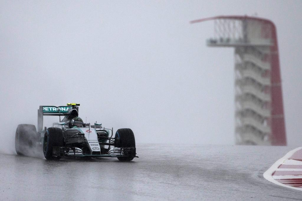 Нико Росберг на Гран-при США