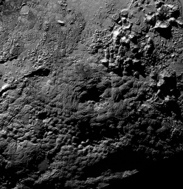 В НАСА обнаружили на Плутоне два ледяных вулкана