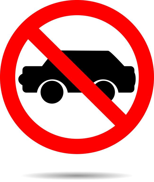 Как сделать запрет на машину