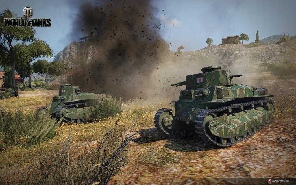 World of tanks японские танки