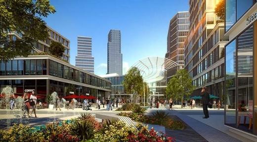 проект бульвара в VadiStanbul