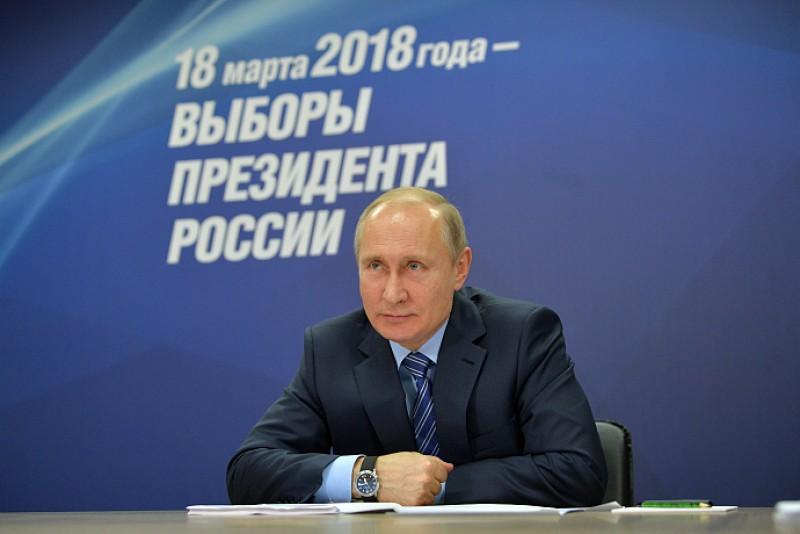 В России начал работать предвыборный сайт Владимира Путина