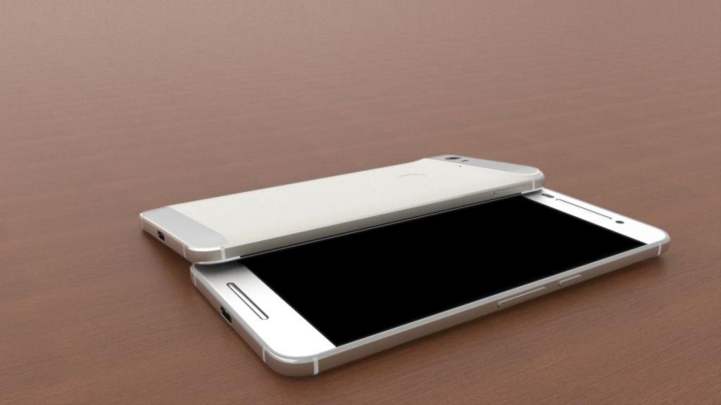 Концепт флагмана Huawei Nexus от Жермен Смит