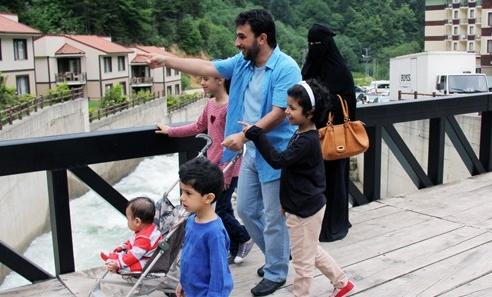 туристы-мусульмане в турции