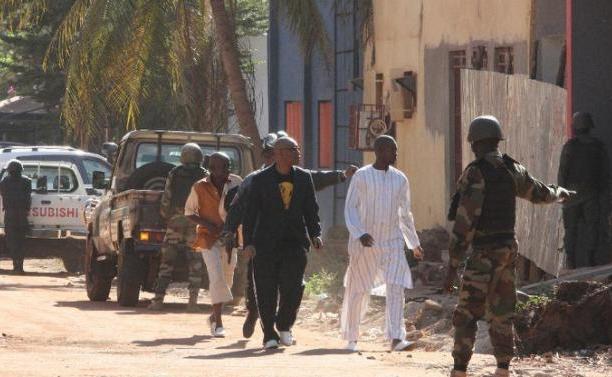 освобождение заложников в Radisson Hotel Bamako
