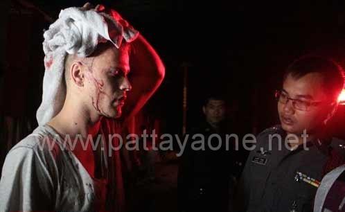 Алексей Лихачёв беседует с полицией