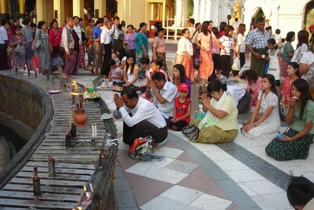молитва будде