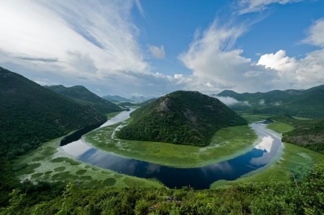 легендарное озеро скадар