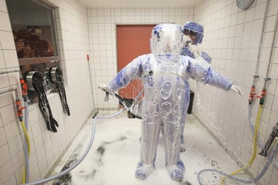 лихорадка Эбола крайне заразное заболевание