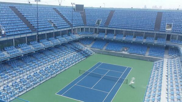 теннисная арена Koza World of Sports