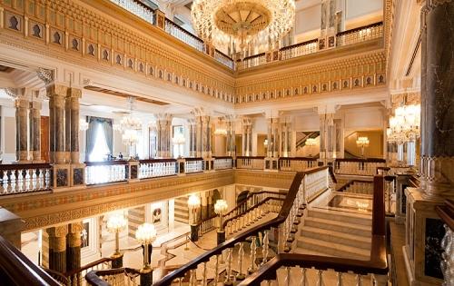 шикарный стамбульский отель Çırağan Palace Kempinsk