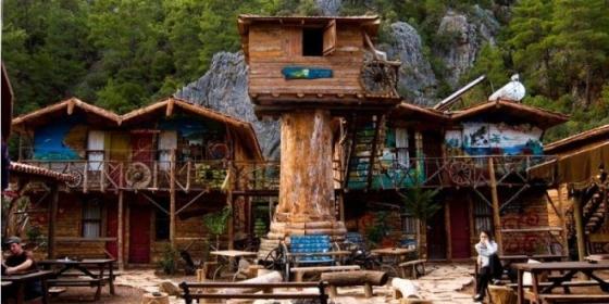 Деревянные дома Кадира