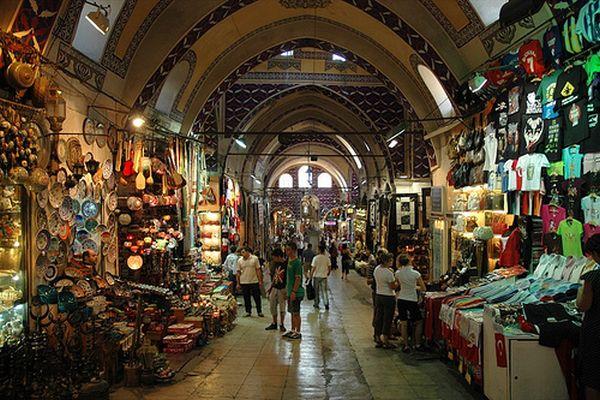 Гранд Базар в Стамбуле фото