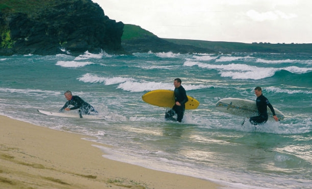 серфинг в шотландии