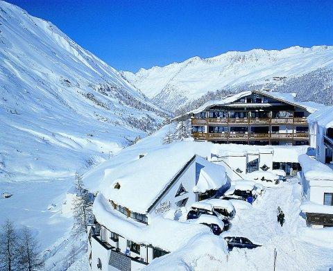 отель в австрийских альпах