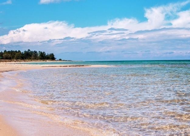 на мичигане отменные песчаные пляжи