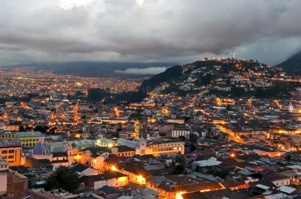 Кито считается самой красивой столицей в Южной Америке