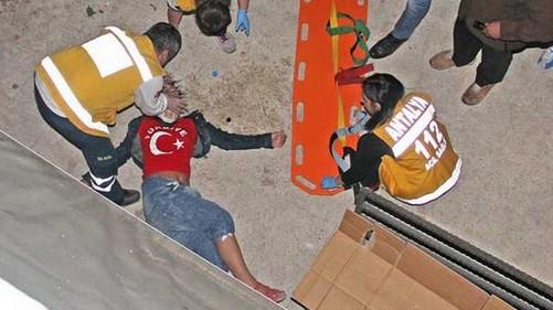 россиянка упала на бетонный пол с высоты 7 метров в Кемере