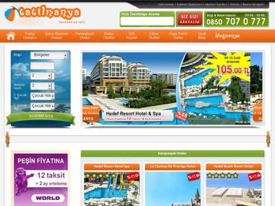 закрытый в данный момент веб-сайт www.tatilmanya.com