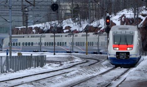 """поезд """"Аллегро"""" потерял 20% пассажиров"""