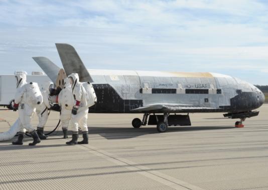 беспилотный шаттл X-37В